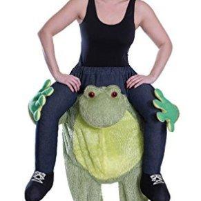 Frog - Piggy Back Traje - Adulto Disfraz