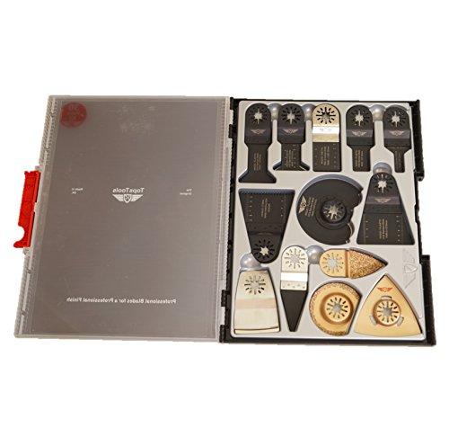 TopsTools sw_unk25 x 25-Set di lame per rasaerba Bosch, Fein Multimaster, pastello, Makita,...