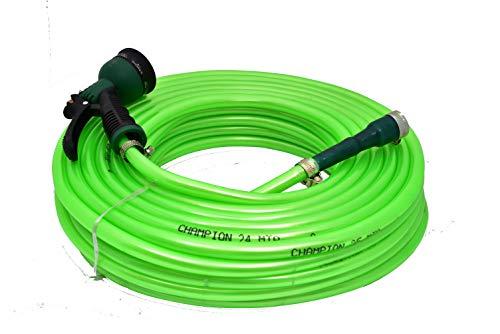 CINAGRO Long Lasting Flexible Garden Hose Pipe (Length: 20meters - Size: 1/2 inch) with 8 Mode Spray Nozzle Gun, for Gardening, Car Wash, Floor Clean, Pet Bath