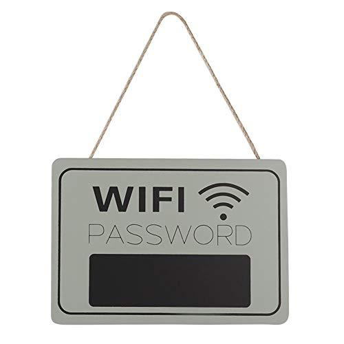 Lavagna da appendere al negozio, WIFI Password Display Segnaletica Appesa a parete Caffetteria...