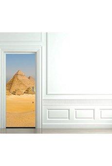 TATOUTEX Pegatinas para Puerta (pirámides de Egipto