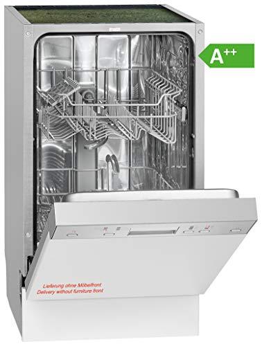 Bomann GSPE 889 - Lavello da Incasso, parzialmente Integrato, EEK A++, 9 MGD, 6 programmi, 197...