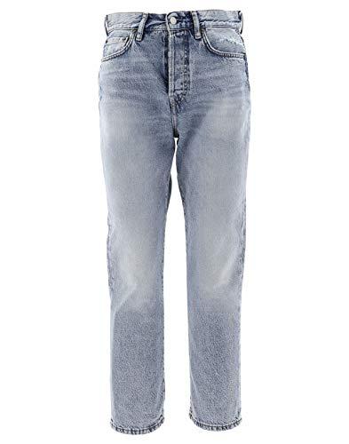 ACNE STUDIOS Damen A00041blu Hellblau Baumwolle Jeans