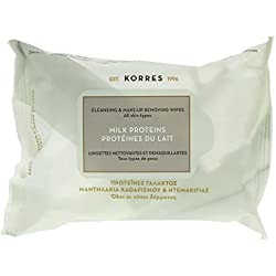 Korres Salviette Struccante Cleansing & Make Up Removing Wipes - 25 ml