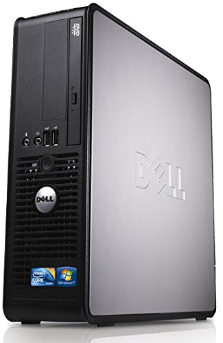 Dell OptiPlex 780 SFF Dual Core 4GB 1000GB Windows 10 64-Bit Desktop PC Computer (Generalüberholt)