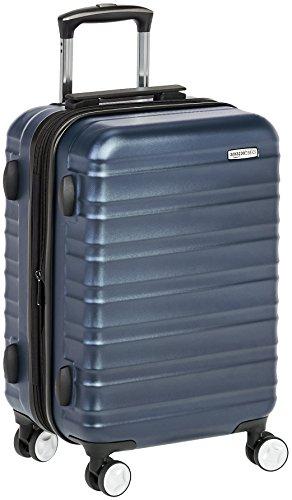 AmazonBasics - Trolley rigido Premium con rotelle pivotanti e lucchetto TSA integrato, bagaglio a...