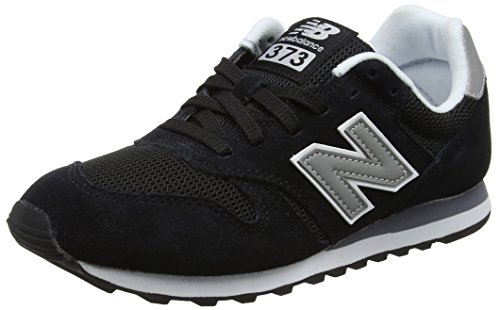 New Balance Herren ML373 Sneaker,, Schwarz (Black/ML373GRE)), 43 EU