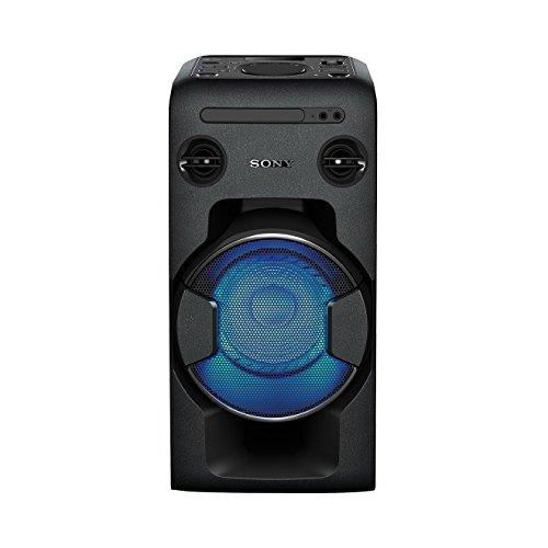Sony MHC-V11 Sistema Home Audio con funzione Mega Bass, Bluetooth, NFC, USB, Nero