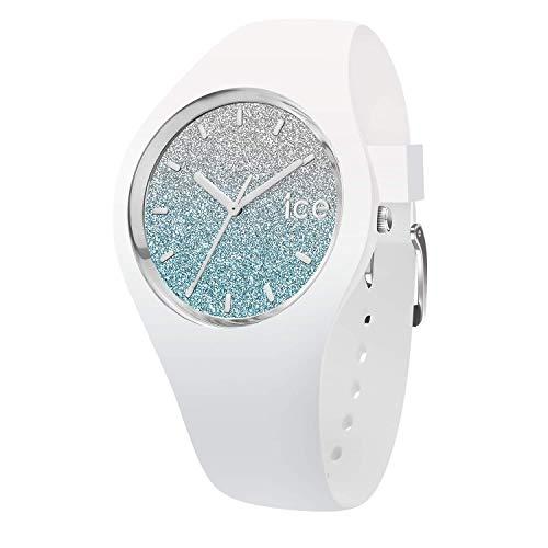 Ice-Watch - Ice Lo White Blue - Orologio Bianco Da Donna Con Cinturino In Silicone - 013425 (Small)