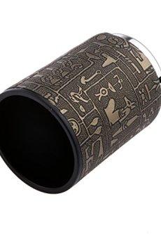 Juegos de Mesa Taza de Dados Agitador Patrón en Forma de Egipto Enchapado