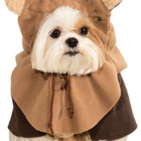 Disfraz de ewok para perro, de Star Wars