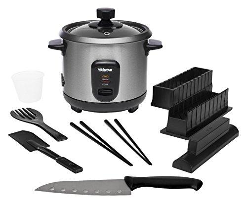 Cuociriso Tristar RK-6140 – Capacità 0,6 litri – Kit per sushi incluso gratuitamente