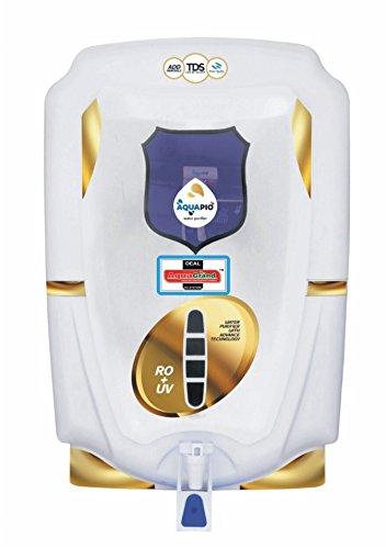 DEAL AQUAGRAND AQUA PIO RO+UF+UV+MINERAL+TDS CONTROLLER 10 Ltr ROUVUF Water Purifier