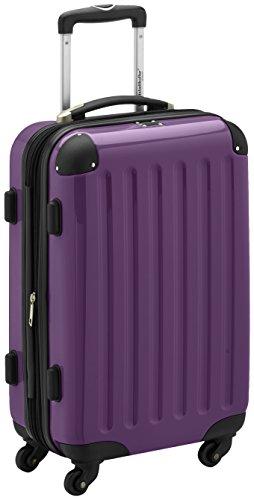 HAUPTSTADTKOFFER - Bagaglio a mano Rigida Alex, TSA, Taglia 55 cm, 42 Litri, Colore Viola