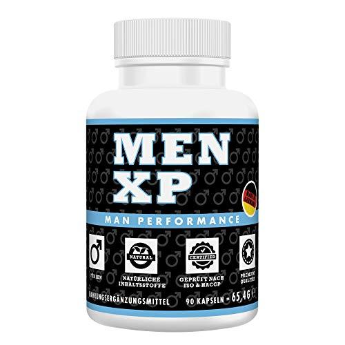 MEN XP Potenzmittel Markenprodukt, Erektionshilfe Potenz Kur, Potenzpillen natürlich ohne Rezept online kaufen, 90 Kapseln