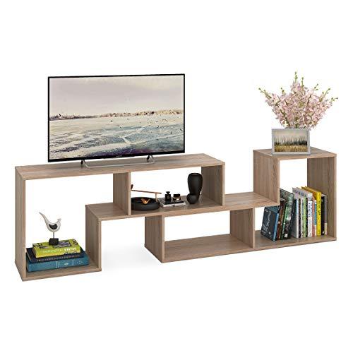 DEVAISE Versatile Legno unità TV/scaffale/mensola; Spessore 15mm, in Legno di Quercia