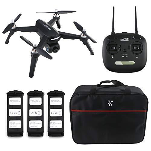 Goolsky JJPRO X5 EPIK RC Senza spazzole 1080P HD Fotocamera 5G WiFi FPV Fotocamera GPS Seguimi Altitude Hold RC Quadcopter App Operated w / 3 Batteria
