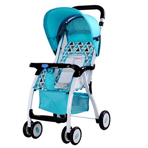Passeggini per i più piccoli Passeggini pieghevoli portatili comfort parasole per bambini (Colore :...