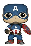Funko Pop- Marvel: Avengers Age Of Ultron, Captain America Statuetta