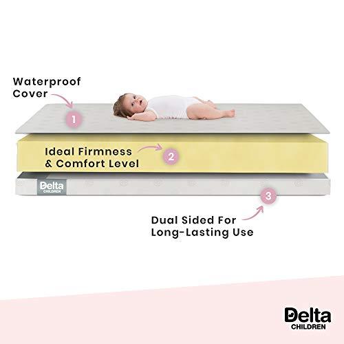 Delta Children Twinkle Stars Crib & Toddler Mattress