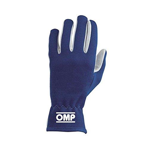 OMP ompib/702/B/S RALLY Guanti, colore: blu, taglia S