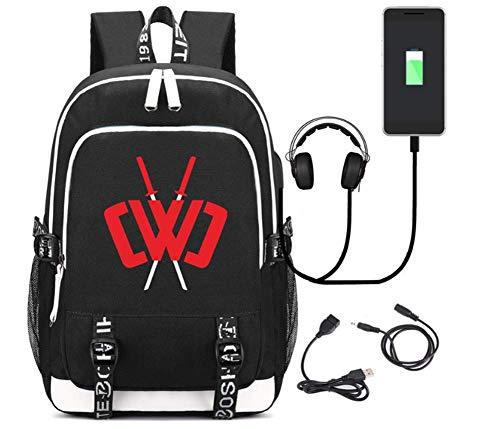 JJZX Zaino per Laptop, Chad Wild Clay Zaino da Viaggio Impermeabile Zaino Scuola Laptop da 15,6...