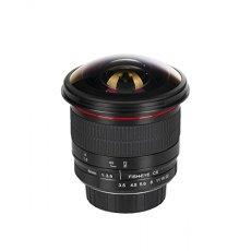 Rectángulo Meke Meike Ultra Gran Angular de 8mm f/3,5Enfoque Manual Objetivo Ojo de pez para Nikon F DX Soporte APS-C DSLR Cámaras