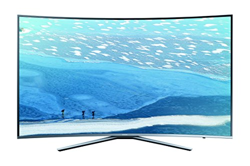 Samsung KU6509 163 cm (65 Zoll) Curved Fernseher (Ultra HD, Triple Tuner, Smart TV)
