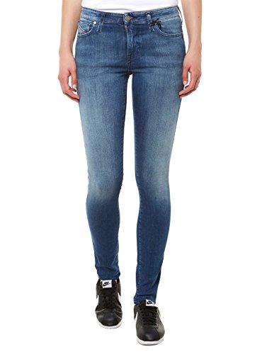 Diesel Damen Skinny Slim Leg Jeans Dunkelblau