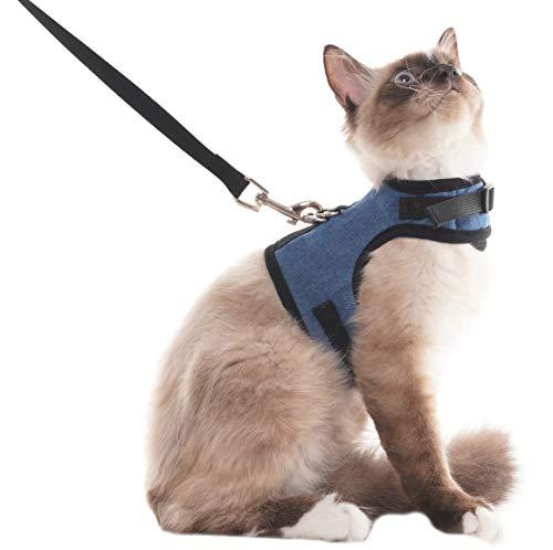 Arnés de gatito, ajustable, suave, adecuado para cachorros, gatos, mascotas
