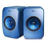 KEF LSX - WLAN Lautsprecher - Blau | Aktivboxen mit Bluetooth | Multiroom speakers | Wifi Speaker, Airplay 2, Spotify | Bester Wireless Lautsprecher