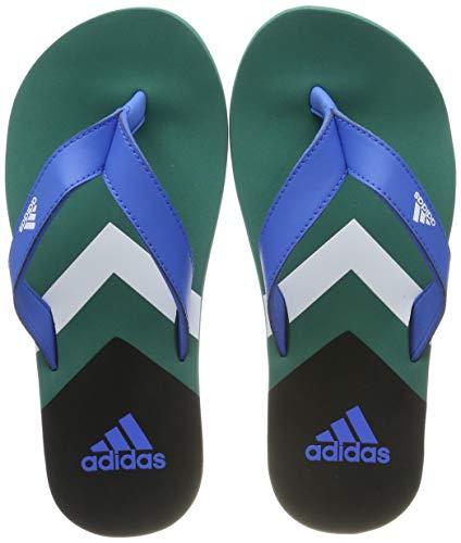 adidas Eezay Flip Flop, Scarpe da Spiaggia e Piscina Uomo, Blu True Blue/Ftwr White/Active Green,...