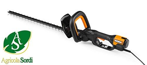 WORX WG212E corta-setos eléctrico Cuchilla doble 500 W 2,4 kg - Fusible de seguridad (Corriente alterna, 500 W, 2,4 kg)