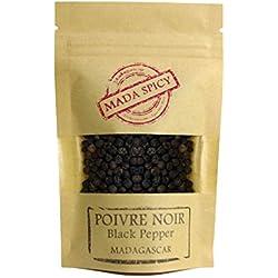 Pepe nero grani di Madagascar 200g. Primissima qualità. Bustina richiudibile.