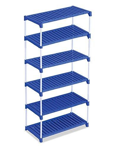 Ebee Multipurpose Rack 6 Steps - Blue