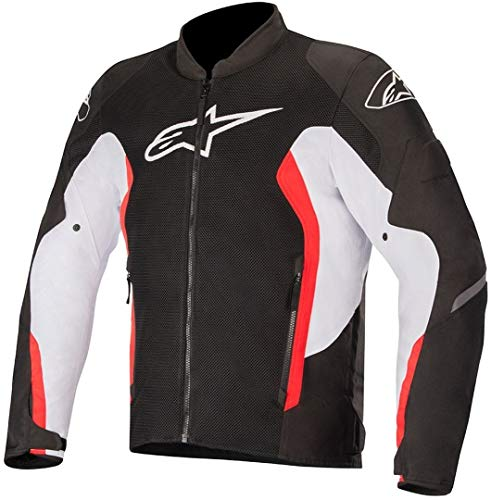 Alpinestars - Giubbotto Moto Viper V2 Air Jacket Black White Bright Red - M