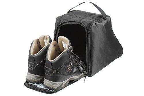 Case4Life Nero Borsa Sacchetto Resistente all'Acqua per Scarpe da Trekking Escursionismo Stivali -...