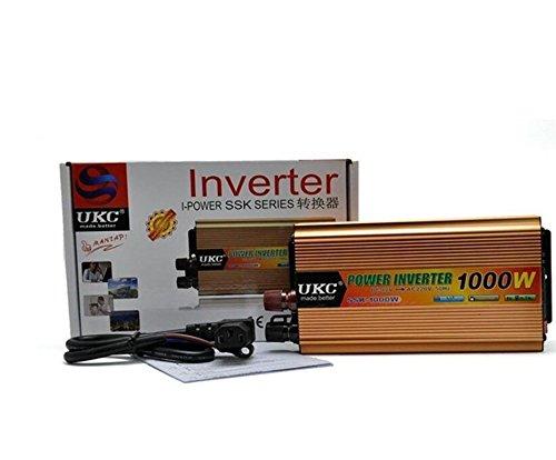Z9CTHDF25JL - Inversor de coche (1000 W, inversor de potencia de coche/DC 48 V a AC 220 V/Car)