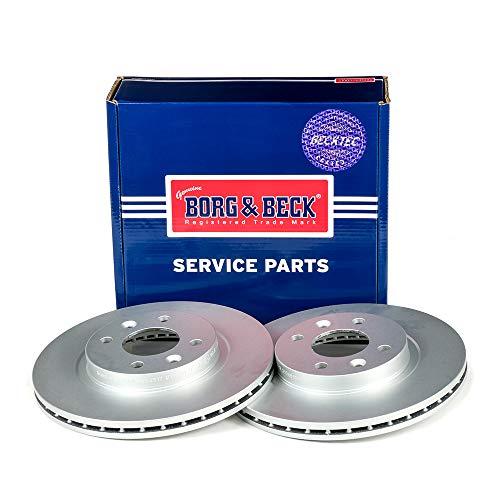 Borg & Beck BBD4317 Disco Freno (Una Coppia)