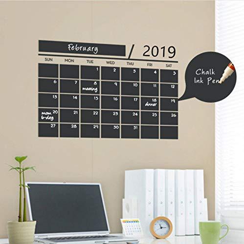 Office Weekly Planner Calendar Memo Lavagna Lavagna Wall Sticker Kids Play Room Studio Room Decor