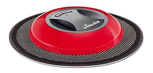 Vileda Virobi Robot Catturapolvere con Panno Usa e Getta, Robot Aspirapolvere per Casa, Ottimo per...