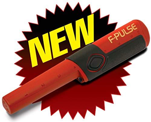 Fisher F-Pulse Pinpointer Metalldetektor, wasserdicht, Rot