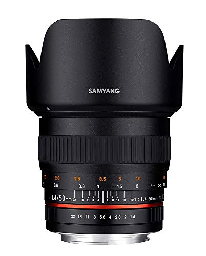 Samyang F1.4 Canon, 50 mm