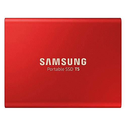 Samsung MU-PA1T0R/EU Portable SSD T5 1 TB USB 3.1 Externe SSD Rot