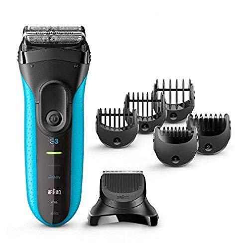 Braun Series 3 Shave&Style 3010BT 3 in 1 Rasoio Elettrico Wet&Dry