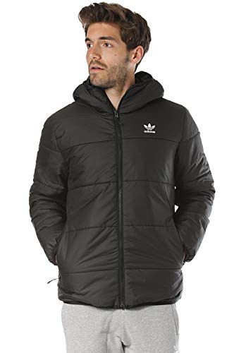 adidas Jacket Padded, Giacca Sportiva Uomo, Black, XS