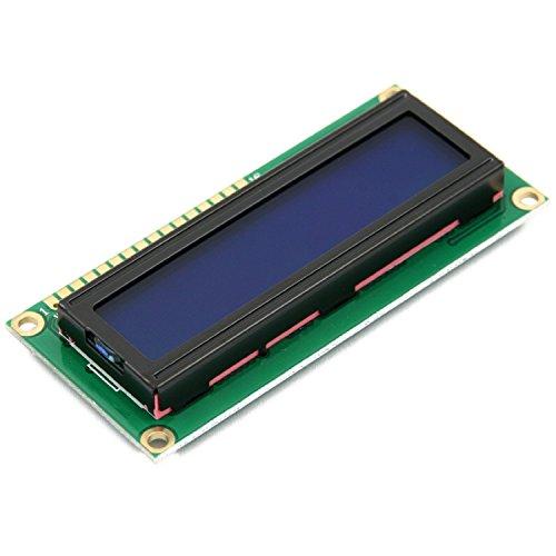 Tipo di LCM: PersonaggiPuò visualizzare 2-linee x 16 caratteriOperare con 5V DCDimensione del modulo: 80mm x 36mm x 12mmVisualizza dimensioni dell'area: 64.5mm x 16mmLa confezione include:1x WINGONEER 5V 1602 caratteri Display LCD Modulo