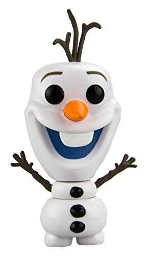 FUNKO Pop! Disney: Frozen - Olaf Collectible figure Disney: Frozen - action figures & collectibles (Collectible figure, Dibujos animados, Disney: Frozen, Multi, Vinilo, Caja) - Figura Frozen Funko Olaf (10cm)