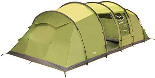Vango Odyssey 800 Vis Tunnel Tent, Unisex, Verde-Epsom Green, 8 Persons