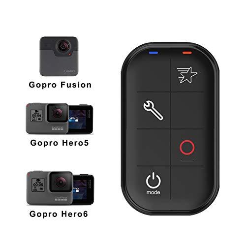 AFAITH Telecomando WiFi Smart Remote impermeabile per GoPro Hero7 Black Hero 6/5 Hero 5 Session Hero4 Gopro Hero Controller per fotocamera LCD con cinturino da polso e cavo di ricarica